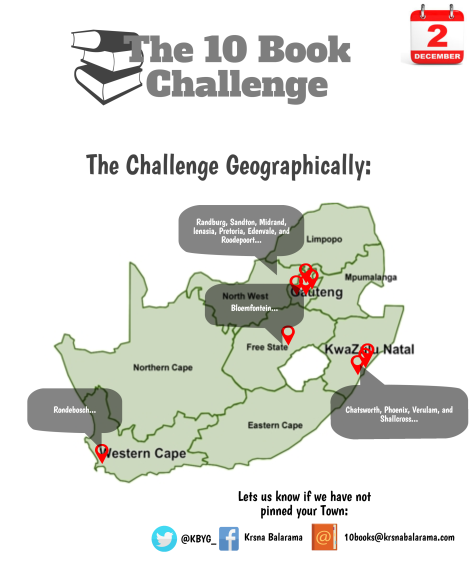 The Book Challenge - Geographically [3][2]